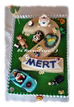 #ciftlik #kuzu #kopek #farm #cake #pasta #dogumgunu #birthdayboy #birthday