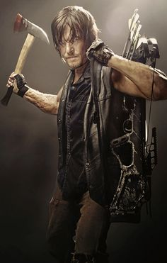 who knew my dream man would be an axe toting, crossbow slinging redneck with greasy hair ? sigh.