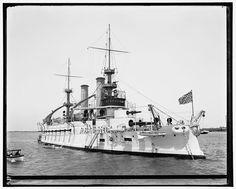 USS Kentucky [Hi-Res] circa: 1901