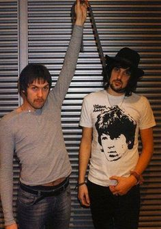 Sergio Pizzorno and Thomas Meighan Kasabian