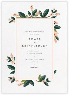 ideas for vintage wedding invitations diy layout wedding Simple Bridal Shower, Bridal Shower Flowers, Bridal Shower Rustic, Bridal Showers, Wedding Flowers, Baby Showers, Flower Shower, Vintage Wedding Invitations, Rustic Invitations