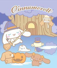 #Cinnamoroll #Halloween ψ(`∇´)ψ