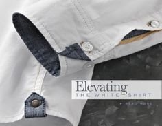 Carbon2Cobalt's take on Elevating The White Shirt