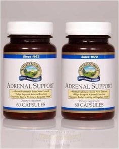 Naturessunshine Adrenal Support Immune System Support 60 Capsules (Pack of 2) by Natures Sunshine. $48.90. Adrenal Support [Glandular, Nervous] is a synergistic blend of vitamins, minerals, enzymes and adaptogenic herbs designed to support the adrenal glands. Adrenal Support is formulated with powdered bovine adrenal gland from New Zealand. The ingredients in Adrenal Support may offer help in supporting and maintaining adrenal gland health. The B vitamins, for...