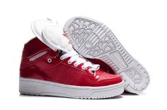 Adidas Attitude Double Heart Red Shoes
