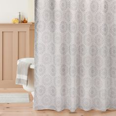 St. Nicholas Square® Snowflake Shower Curtain Collection