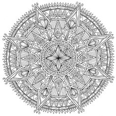 A great mandala that we stumbled upon that we just had to share with everyone!