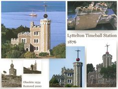 Lyttelton Timeball Station pre earthquake gone now Princess Cruises, Old And New, New Zealand, Taj Mahal, Restoration, Spaces, Travel, Viajes, Trips