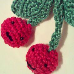 Cherries the love for crochet - Fonkycrochet