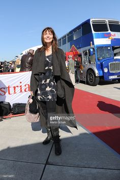 Czech model Paulina Porizkova arrives with the Life Ball Plane from NY to Vienna on May 18, 2012 in Vienna, Austria. The 20th Life Ball, an annual charity ball raising funds for HIV & AIDS projects, will take place on May 19, 2012 at the town hall in Vienna.