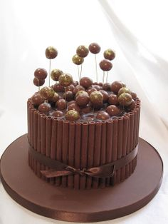 Chocolate malteser cake | Flickr - Photo Sharing!
