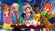 Tortas de fiesta 41112 - LEGO Friends Sets - LEGO.com para niños - AR Lego Friends Birthday, Lego Friends Party, Diy Birthday, Birthday Gifts, Days To Christmas, Lego Builder, Lego System, Lego Store, Friends Wallpaper