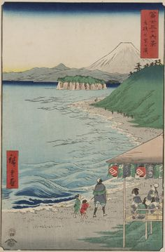 from thirty six view of mout fuji 1858