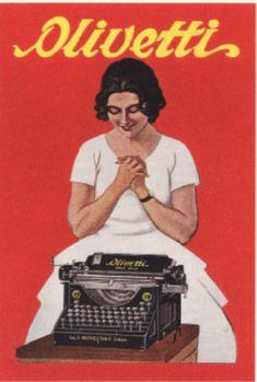 Manifesto pubblicitario della macchina per scrivere M20, disegnato nel 1926 dal cartellonista triestino Marcello Dudovich.