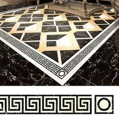 It helps to brighten and beautify your boring or white tiles, offering a new look at your home. Simple to stick it on, change the bald white floor and other bo Peel And Stick Tile, Stick On Tiles, Unique Home Decor, Diy Home Decor, Mobile Home Decorating, Stenciled Floor, Diy Home Repair, Decorative Tile, Floor Decor