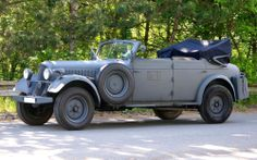 Learn more about 1942 Skoda Superb 3000 Type 952 KFZ 21 on Bring a Trailer, the home of the best vintage and classic cars online. Vintage Cars, Antique Cars, Convertible, Skoda Superb, Dream Garage, Old Cars, Luxury Cars, Military, Vehicles