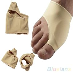 1Pair Footful Bunion Pads Sleeves Hallux Valgus Protector Corrector Pain Relief  2MOI 2TGE
