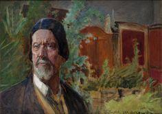Jacek Malczewski, Autoportret, 1926