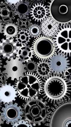 Iphone X Wallpaper Live Custom Mechanical Gears Movement Watch Time Wallpapers Hd