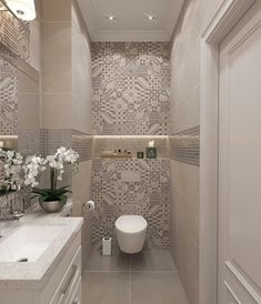 55 Fresh Small Master Bathroom Remodel Ideas And Design - - Kochen - Badezimmer ideen Bathroom Design Luxury, Modern Bathroom Design, Luxury Bathrooms, Light Grey Bathrooms, Bathroom Designs, Beautiful Bathrooms, Bad Inspiration, Bathroom Inspiration, Bathroom Ideas