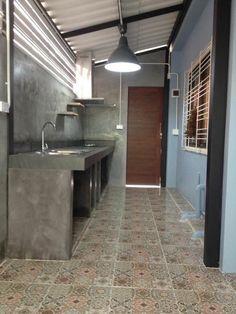 รวม ไอเดีย การต่อเติมห้องครัวหลังบ้าน เหมาะไว้ทำอาหาร ใช้งานหนักจริงจัง | iHome108