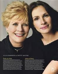 Julia Roberts and her mother