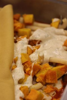 Il Corvo Seattle - everyday new inspirational pastas: Baked Pasta With Sage Bechamel and Roasted Winter Squash by jamesonf, via Flickr
