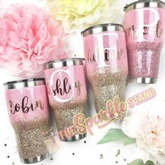 Happy Sunday! Blush and Champagne were my most popular July orders!! I'm almost caught up and looking forward to having time to create new designs. A bunch have asked, and I'm thinking of offering FULLY glittered tumblers. Sparkle from top to bottom!! Is that something y'all would be interested in? What do you prefer in terms of glitter coverage? Let me know in the comments ✨ #HappySparkling #GlitterClothes