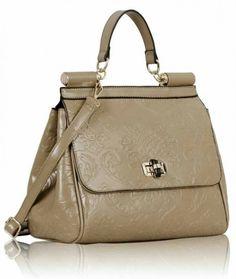 Floral Satchel Bag. £24.99