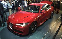 """Entusiasmo alle stelle per i primi ordini della versione """"sportiva"""" dell'Alfa Romeo Giulia"""