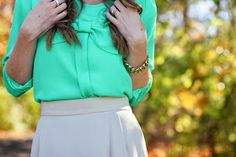 Bows on Blouses (and a giveaway)