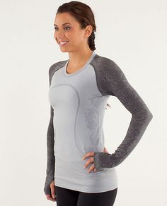 run: swiftly tech long sleeve *lace | women's tops | lululemon athletica