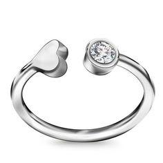 Srebrny Pierścionek, 89 PLN, www.YES.pl/56123-tag-me-srebrny-pierscionek-AB-S-000-CYR-APCL511 #jewellery #TagMe #BizuteriaYES #shoponline #accesories #pretty #style