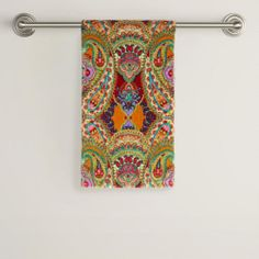 One of my favorite discoveries at WorldMarket.com: Venice Printed Hand Towel