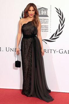 Jennifer Lopez at UNESCO Charity Gala 2012