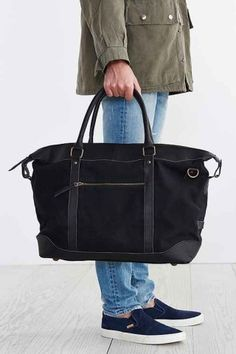 Escape with this United By Blue Trafford Weekender Bag