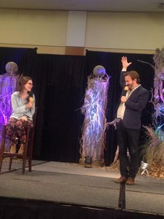 Madison McLaugh and Richard Speight Jr. at BurCon 2013