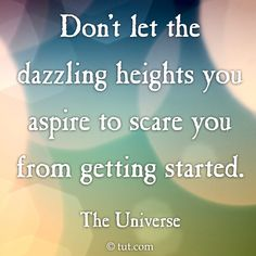 Dazzling Heights Mike Dooley, www.tut.com