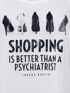 Shopping is better than a psychiatrist via ZsaZsa Bellagio
