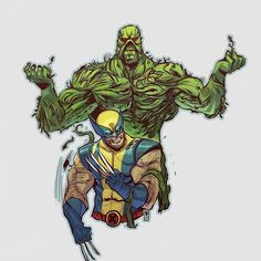 RIP len Wein.   Tribute to him and his creations.   For any inquiries please contact me desaryuartha@gmail.com thanks  #wolverine #swampthing #marvelcomics #dccomics #lenwein #comiclegend #desaryuartha