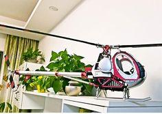JCZK 300C 450L 6CH 3D 6-axis-Gyro Helicóptero GPS Flybarless RTF 2.4GHZ (Con Caja de Aluminio)