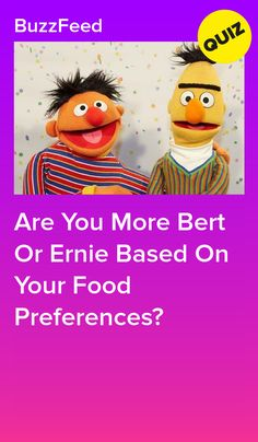 Your Food Preferences Will Reveal If You're More Bert Or Ernie Waffles, Pancakes, Playbuzz Quizzes, Food, Essen, Waffle, Pancake, Meals, Yemek