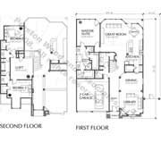 Patio Home Plan C5287 A   like the kitchen/family room