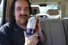 Ron de Jeremy signed for the director. Crutch, Rum, Vodka Bottle, Rome