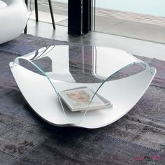 Mesa de centro Quiet de Tonin casa. Muebles modernos. Mesas auxiliares