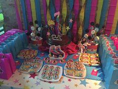 Mesa dulce tematica de Soy Luna por Dulce Diseño.
