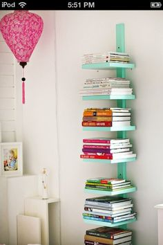 This would be a great idea to put books on
