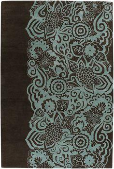 Chandra Rugs Aschera ASC6400 Blue Rug | Contemporary Rugs #RugsUSA