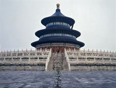 """Photographs of """"Invisible Man"""" Blending into Beijing Locations"""