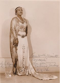 Caterina Jarboro (1903–1986) was a pioneering African American opera singer.